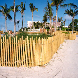 Fences, How to make a bamboo fence
