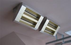 Systèmes de chauffage et de refroidissement pour un garage