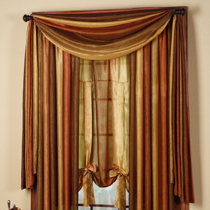 4 vibrant colors for window curtains