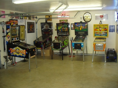 How to convert a garage room into a game room
