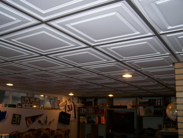Carreaux de plafond acoustique