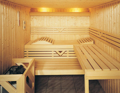 Avoid accidents in sauna