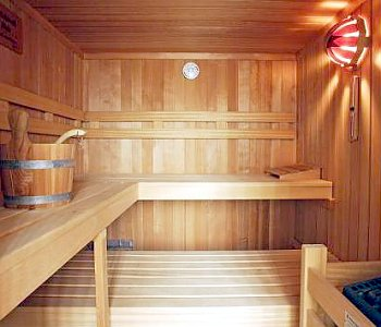 Planning for an indoor sauna