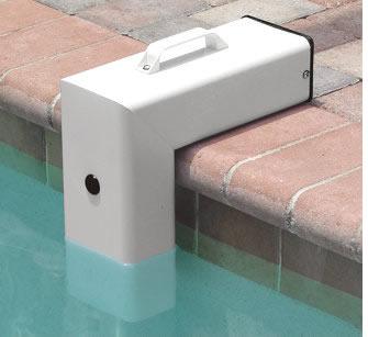 Instalación de una piscina de alarma