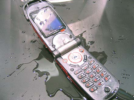 Repairing a cell phone with water damage