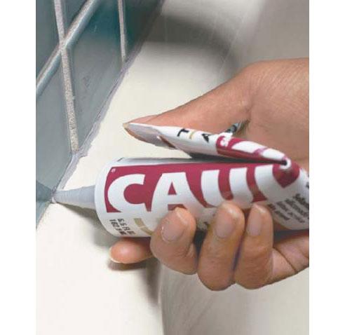 Calfeutrage bain: Quels sont les types de produit de calfeutrage devriez-vous utiliser?