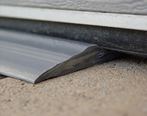 How to fix a garage door seal