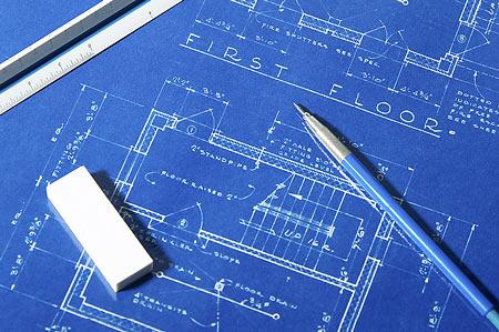 Desenho de um modelo