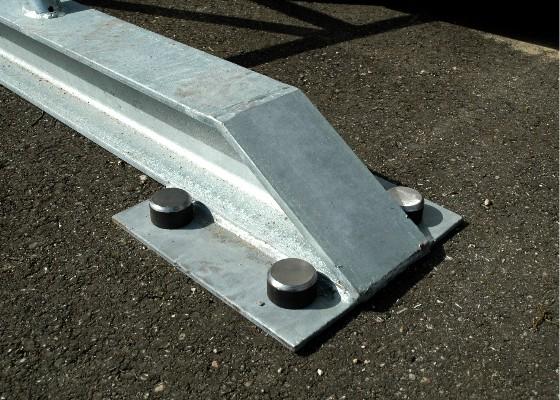 Verankering van een carport