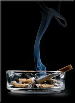How to remove cigarette smoke from wood furniture