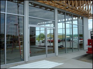 Finding commercial glass doors