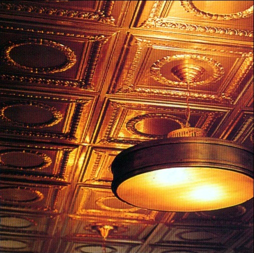 How to paint a tin ceiling