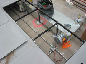 Ventilation and heating in a raised floor system