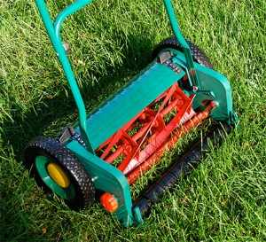 Att köpa en gräsklippare push rulle