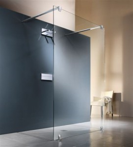 Designing a walk-in shower