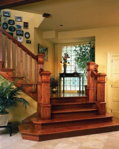 How to repair creaky wooden staircases