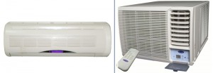 Muren vs venster airconditioner