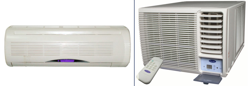 Installing a Carrier brand air conditioner unit requires a few simple steps to properly install the unit into a window and test it for airflow quality.