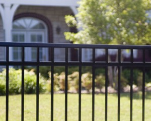 Residential Classic Premier Steel Fences