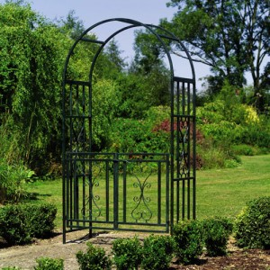 Fences, How to set up a steel arch