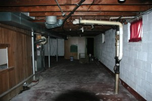 Basement mildew prevention