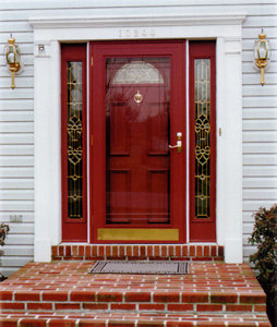 About full view storm doors