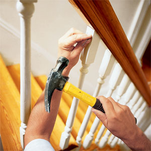 Replacing balusters