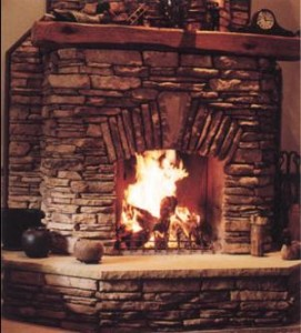 How to build a masonry fireplace