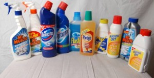 Cleaning agents for mildew and mold