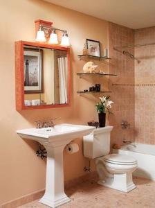 Cuarto de baño prevención de moho