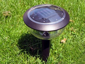 About solar landscape lighting