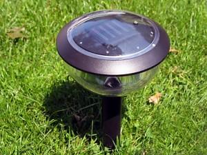 A propos de l'éclairage solaire paysage