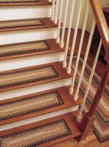 Types of wood stair treads