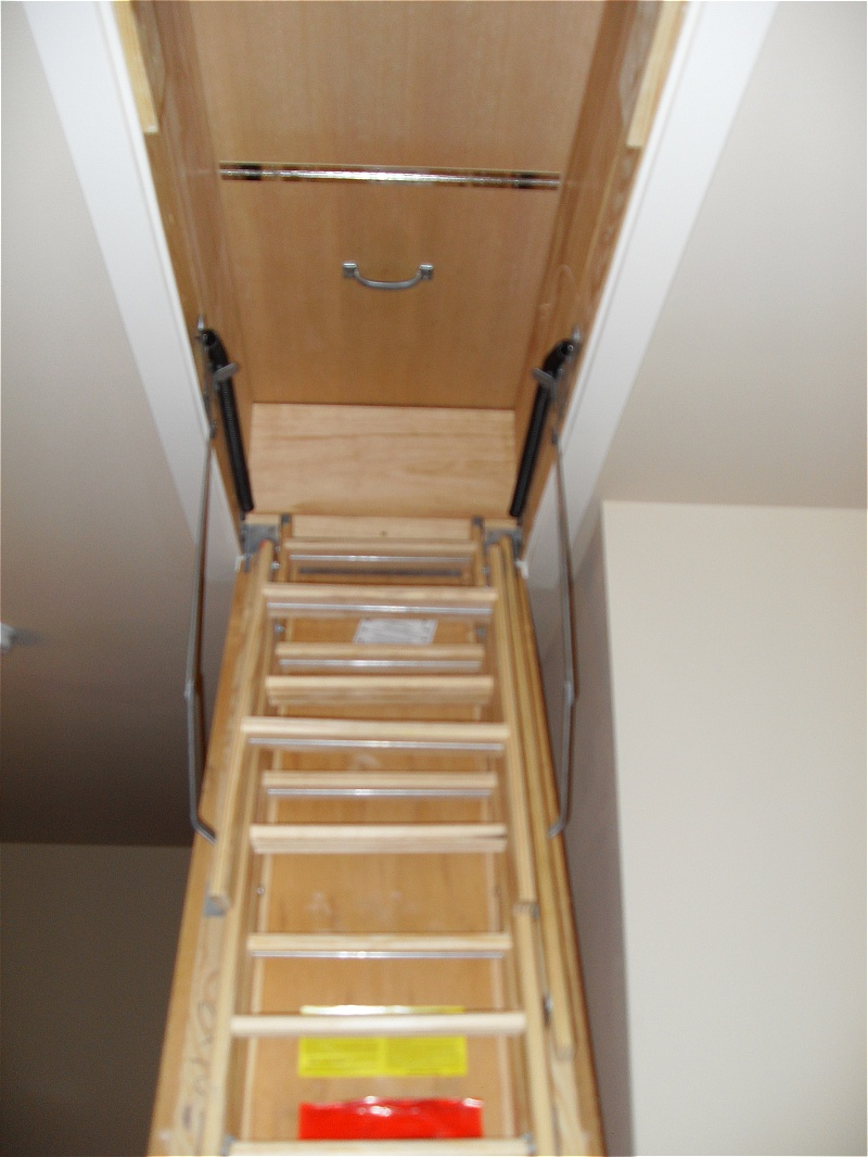 fold down attic stairs