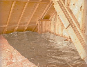 Attic, The advantages of using reflective attic insulation