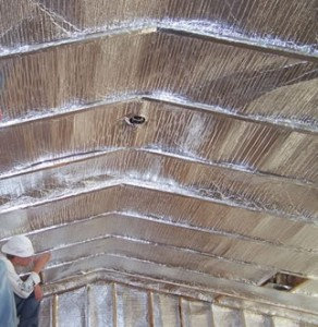 Attic, Saving money on energy with radiant heat barriers