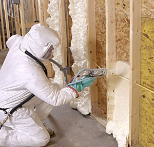Attic, About foam insulation