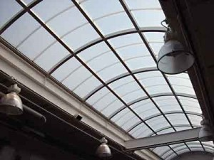 Roofing, Polycarbonate panel accessories