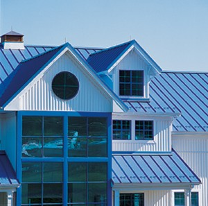 Aluminum roof panels
