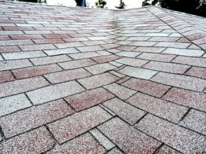 Woven valley shingle installation