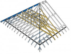 How to build a hipped roof
