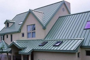 Working with metal shingles
