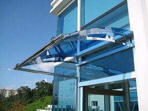 Uses of polycarbonate panels
