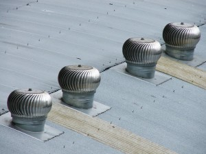 About flat roof ventilation