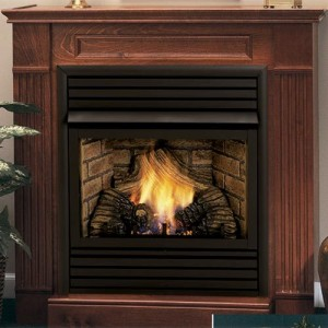 Fireplace, About ventless gas fireplaces