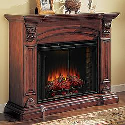 About electric antique fireplaces
