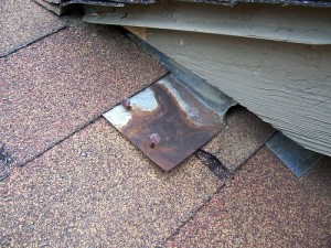 Fixing a leaky roof drain