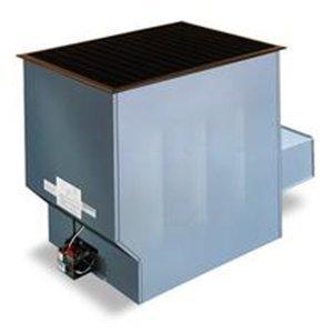 Install a floor furnace