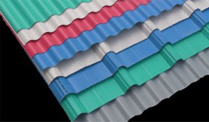 Installazione di coperture in PVC