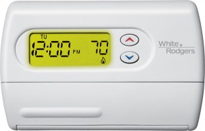 Installing a central heating thermostat